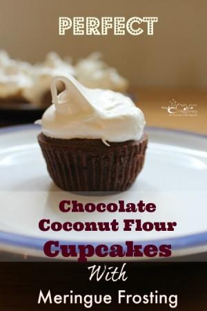 Perfect chocolate coconut cupcakes
