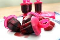 Tart Cherry-Raspberry Real Fruit Ring Pops