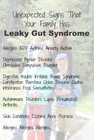 unexpected signs that your family has leaky gut