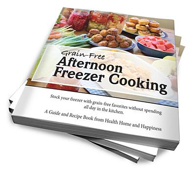Afternoon Freezer Cooking Paperback Stack