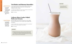 Sample page nutbutter smoothie