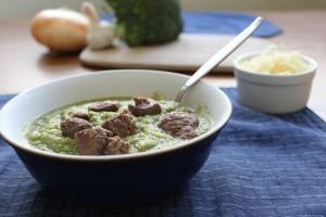 Beef-Broccoli Soup
