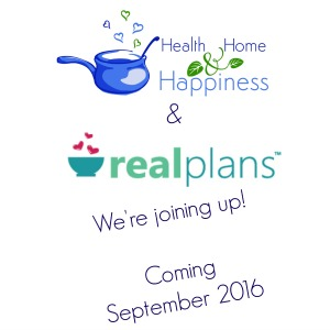 Health Home and Happiness Real Plans Coming Soon