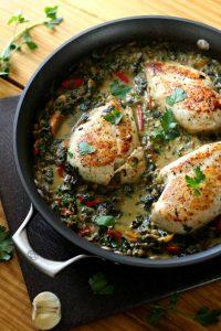 creamy_chicken_vegetable_skillet