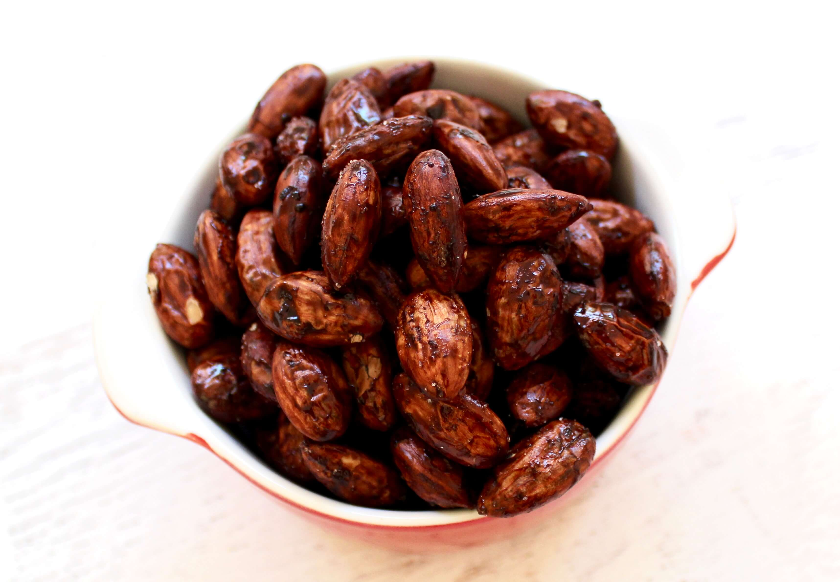 Honey Cocoa Roasted Almonds