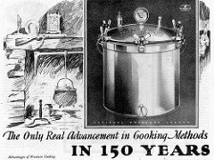 Pressure Cooker Advertisement Old Fashioned