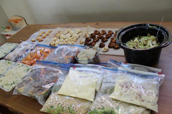 Budget Freezer Cooking