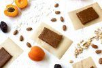 Apricot Coconut Homemade Paleo Protein Bars