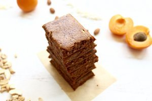 Homemade Apricot-Coconut Paleo Protein Bars (GAPS, Whole30, like RX Bars)