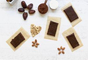 Chocolate Sea Salt Homemade RX Protein Bars