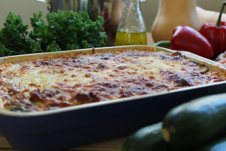 freezer cooking - zucchini lasagna