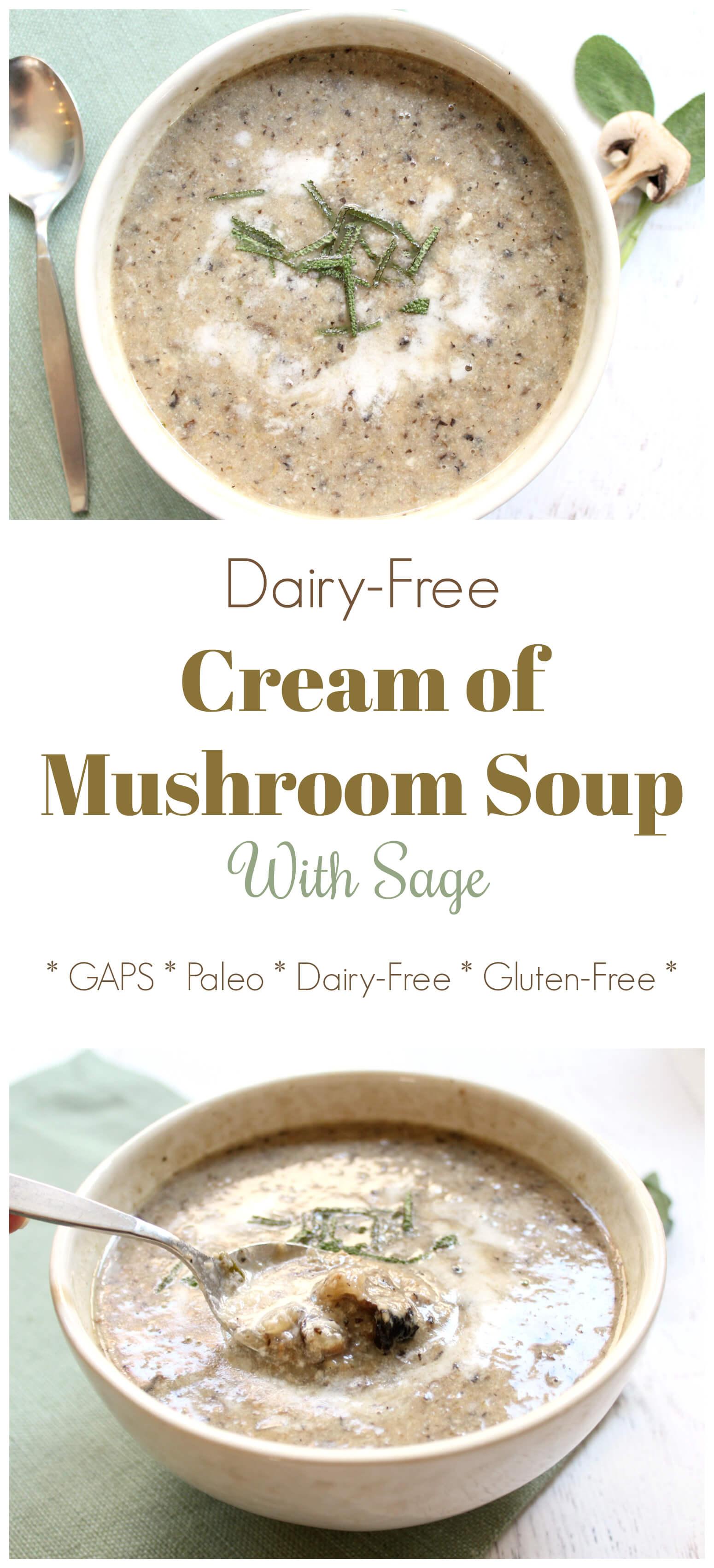 Mushroom soup gluten free