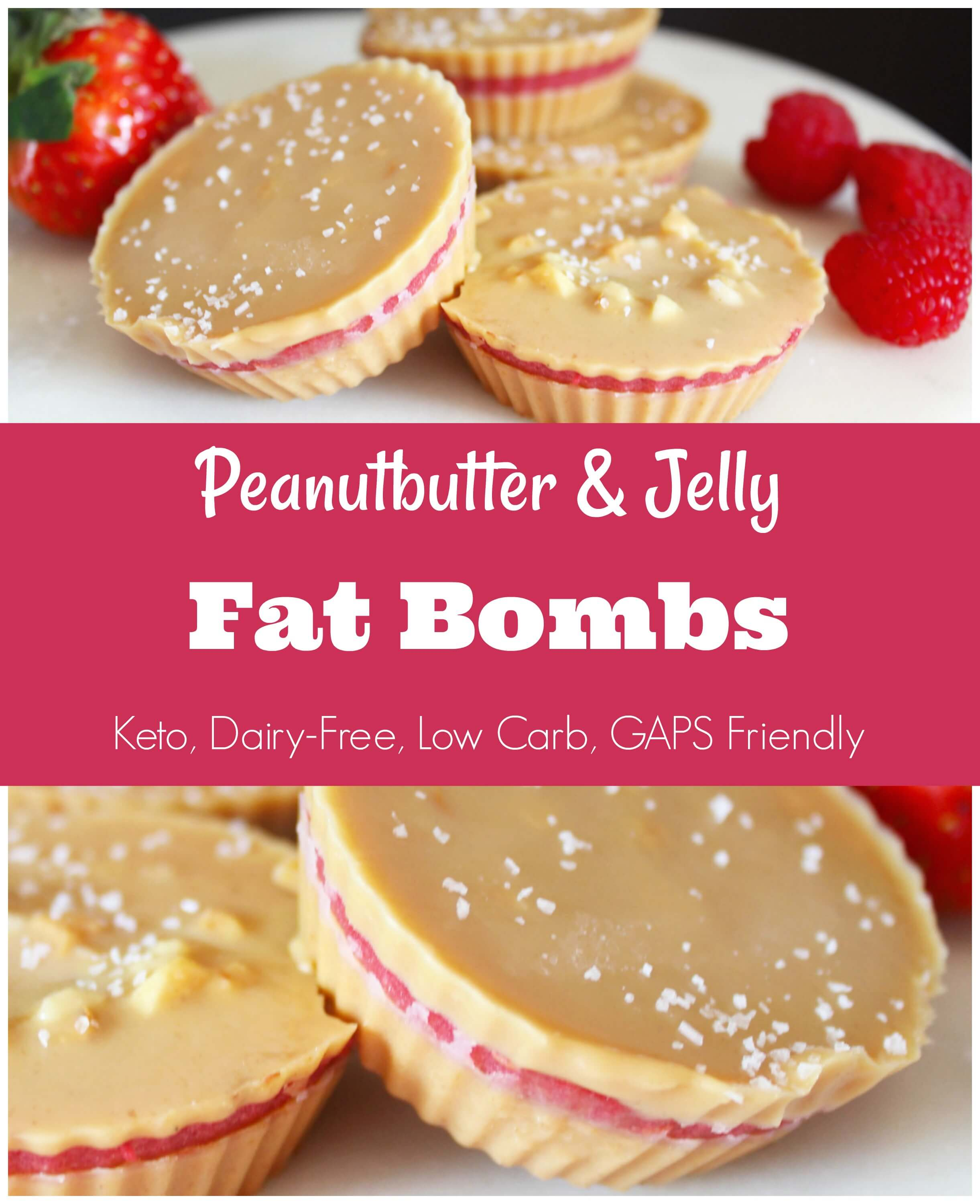 Delicious Peanut Butter and Jelly Fat Bombs (Keto) - Health