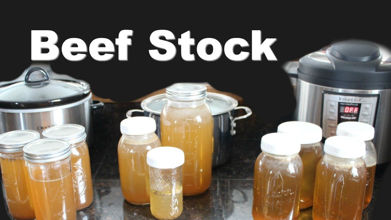 Comparing Ways to Make Beef Stock: Instant Pot, Slow ...