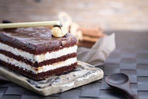 Keto Cake made with Swerve