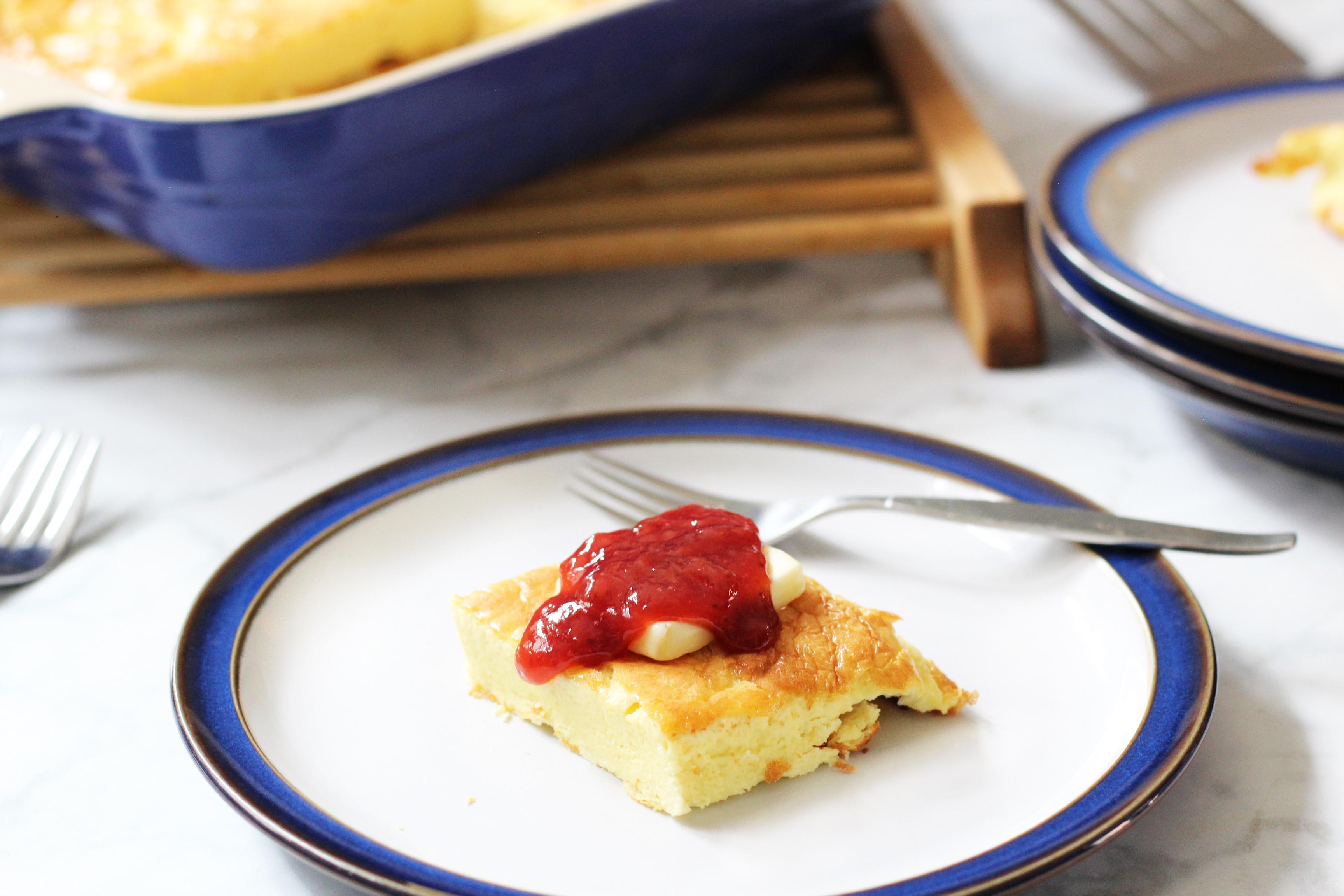 Baked Sourdough Almond Flour Pancake (Keto, Grain Free, GAPS friendly)