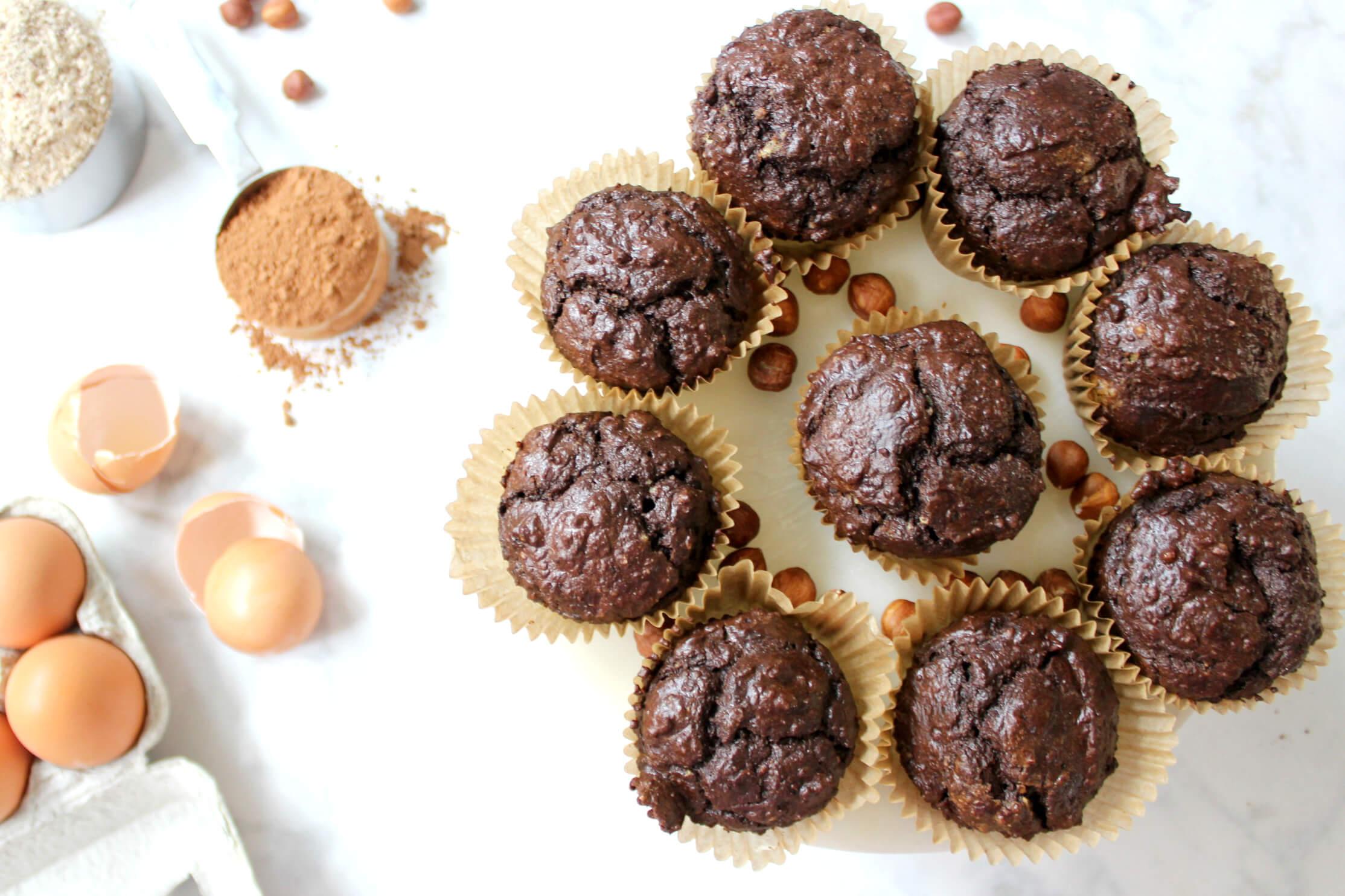 Irresistible Keto Nutella Muffins (dairy-free, GAPS)