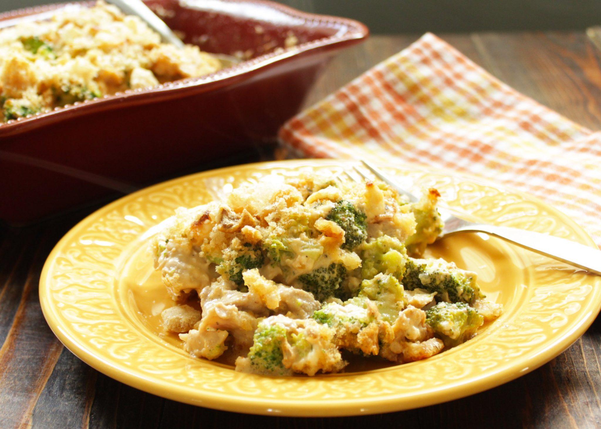 Keto Broccoli Chicken Casserole - Health, Home,  Happiness-6778