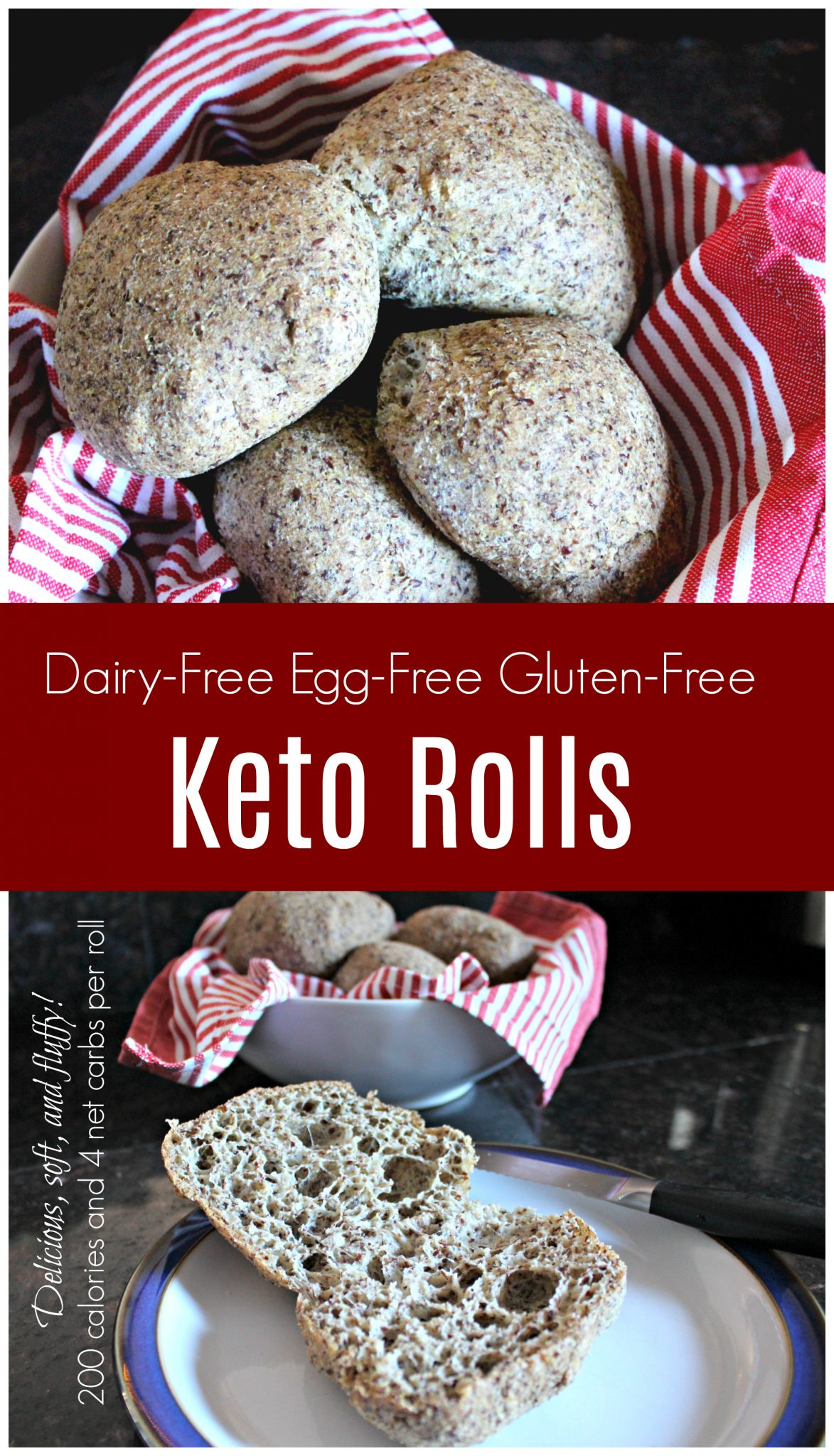 Egg Free Dairy Free Keto Bread Rolls Health Home Happiness