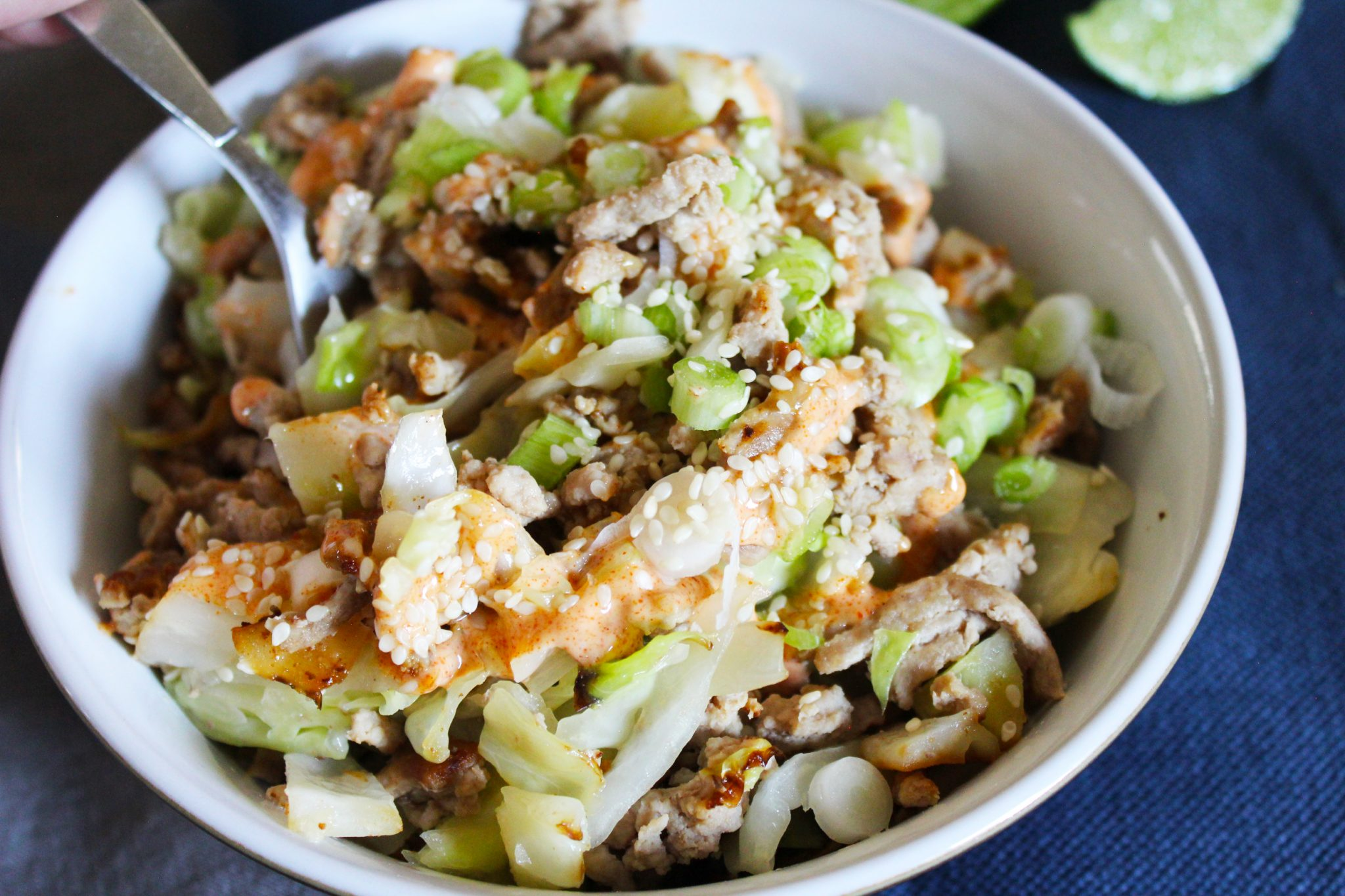 Quick and Easy Egg Roll in a Bowl (Keto, GAPS)