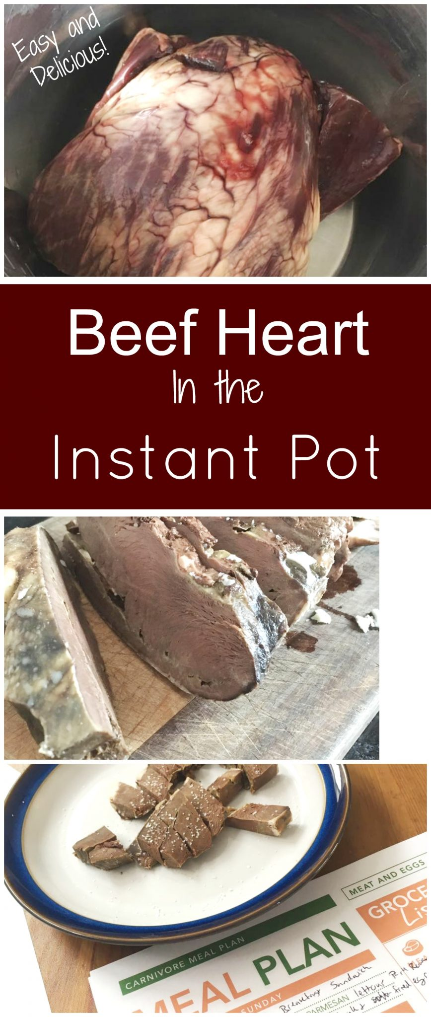 How To Cook Beef Heart In The Instant Pot Health Home