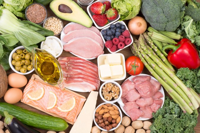 Low carb foods: Meat veggies berries dairy that you will crave once you're in ketosis