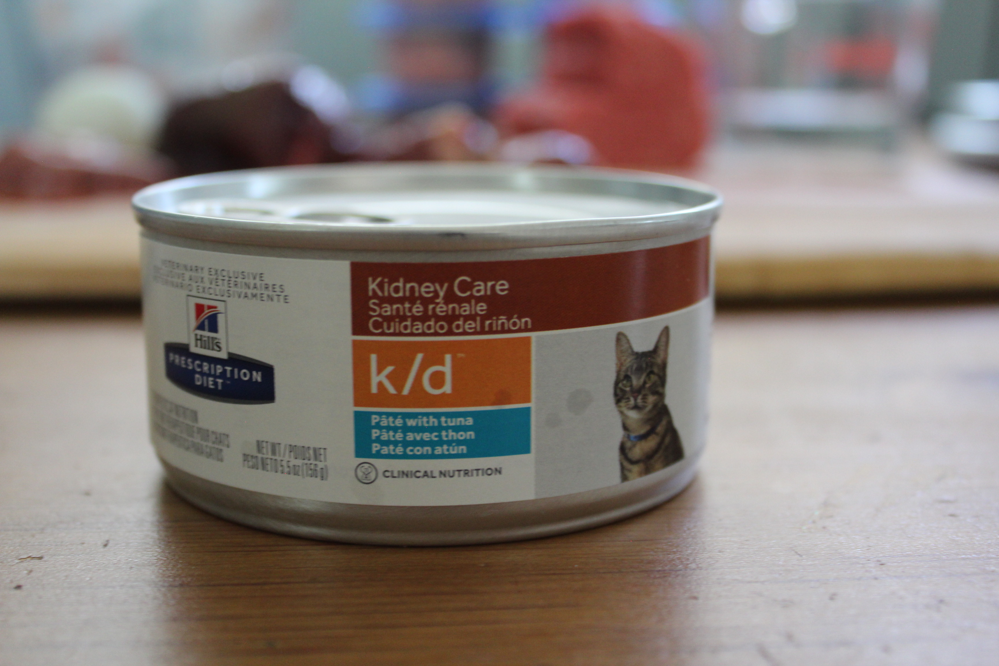 Cat food recommended for kidney disease