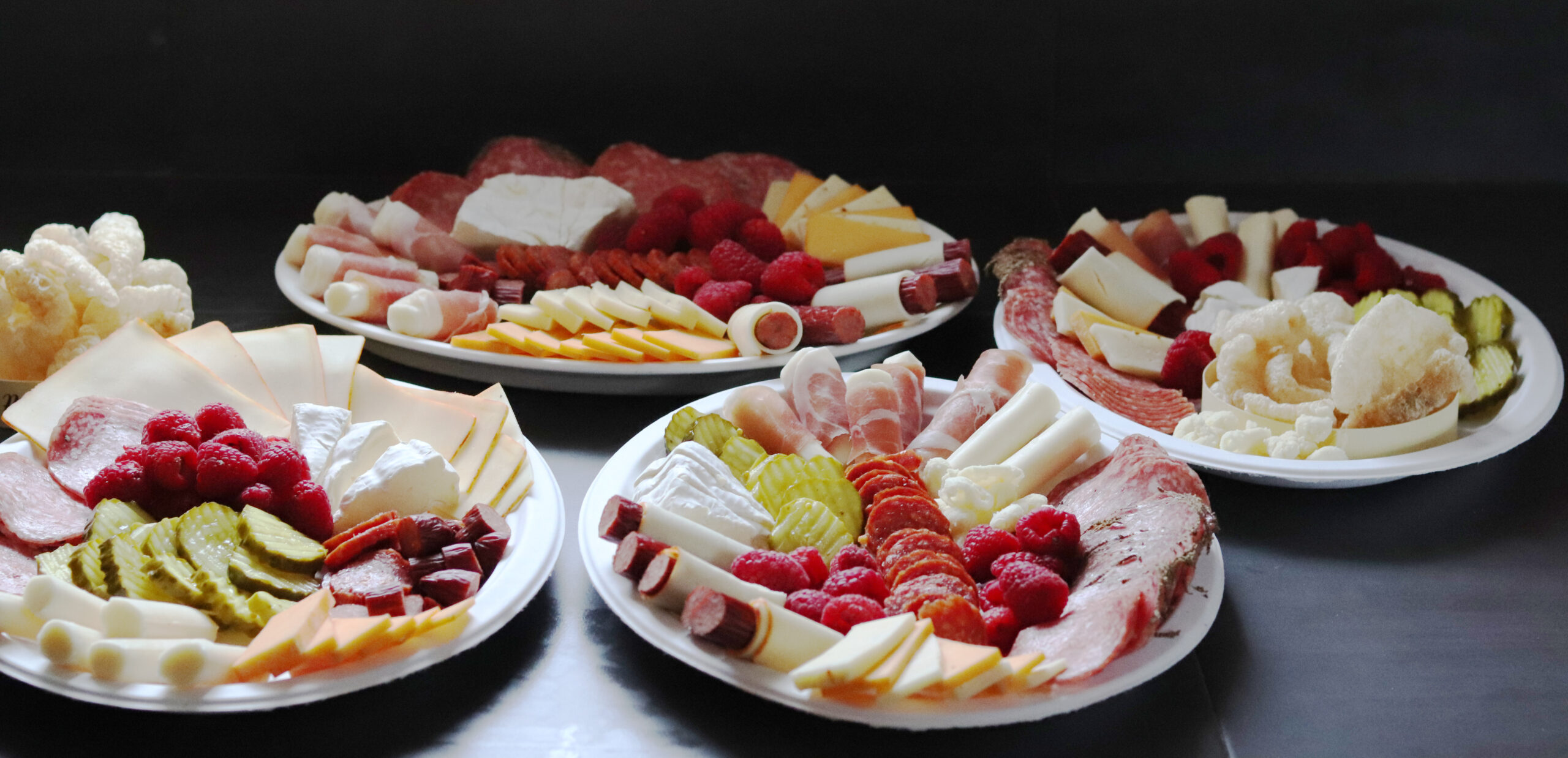 Low-Carb Meat and Cheese Platter