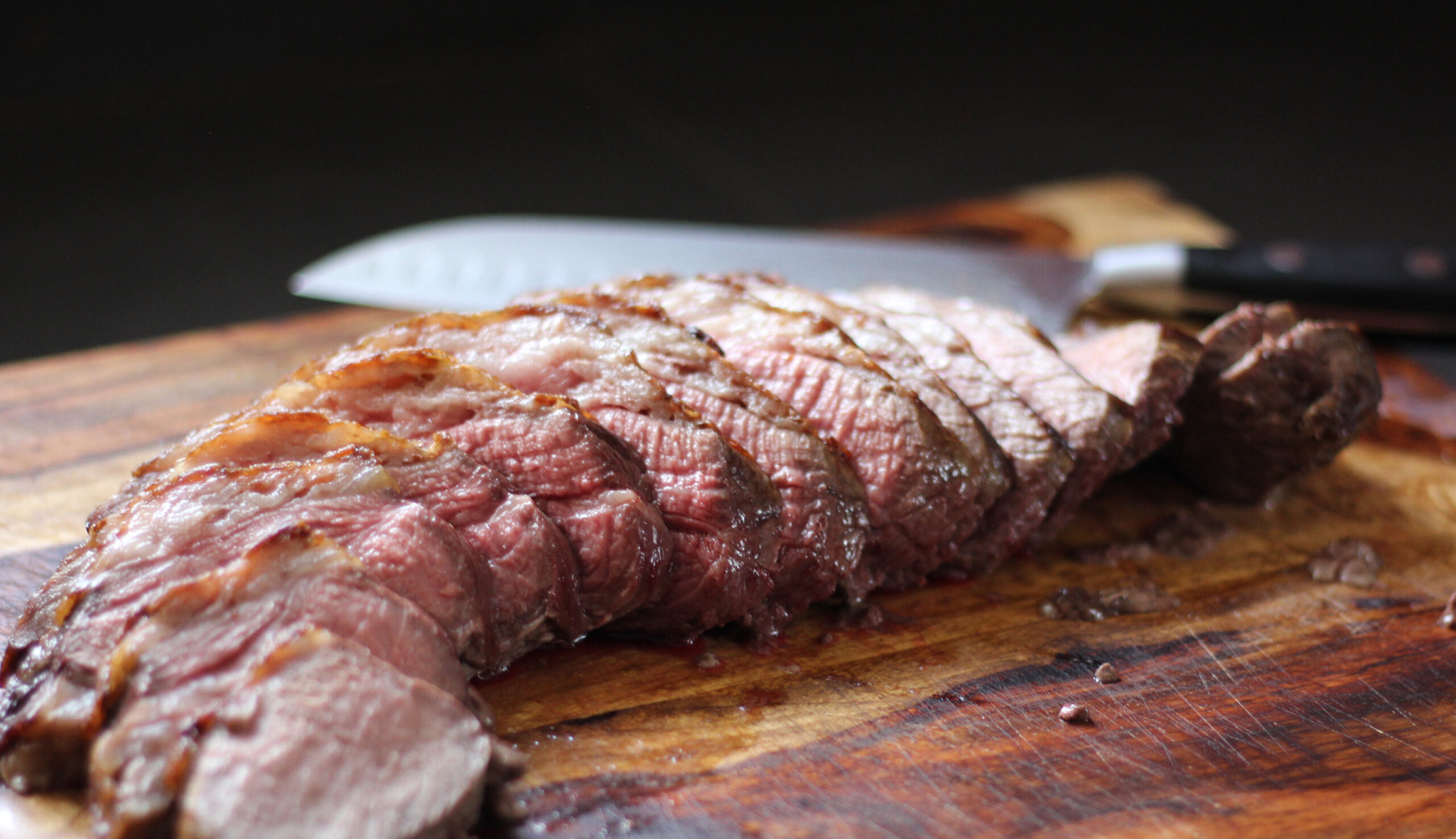 Oven-Baked Tritip (just beef and salt)