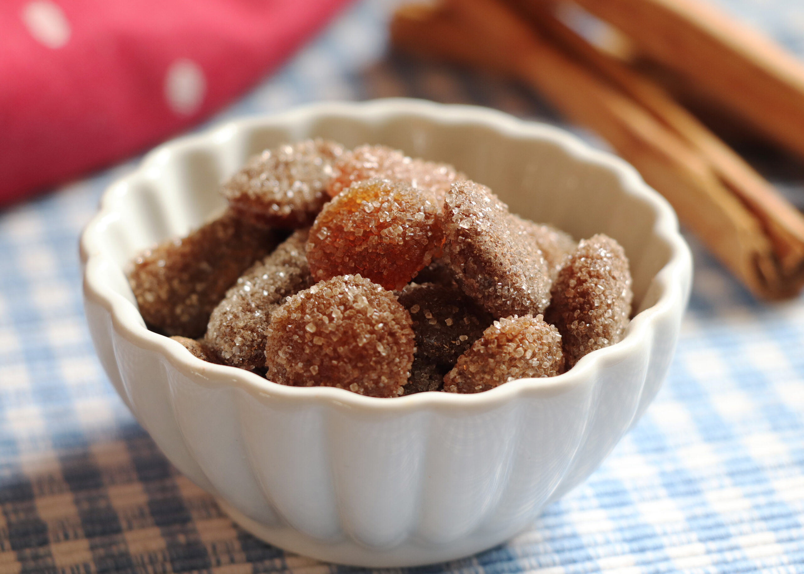 Soothing Homemade Cinnamon and Honey Cough Drops
