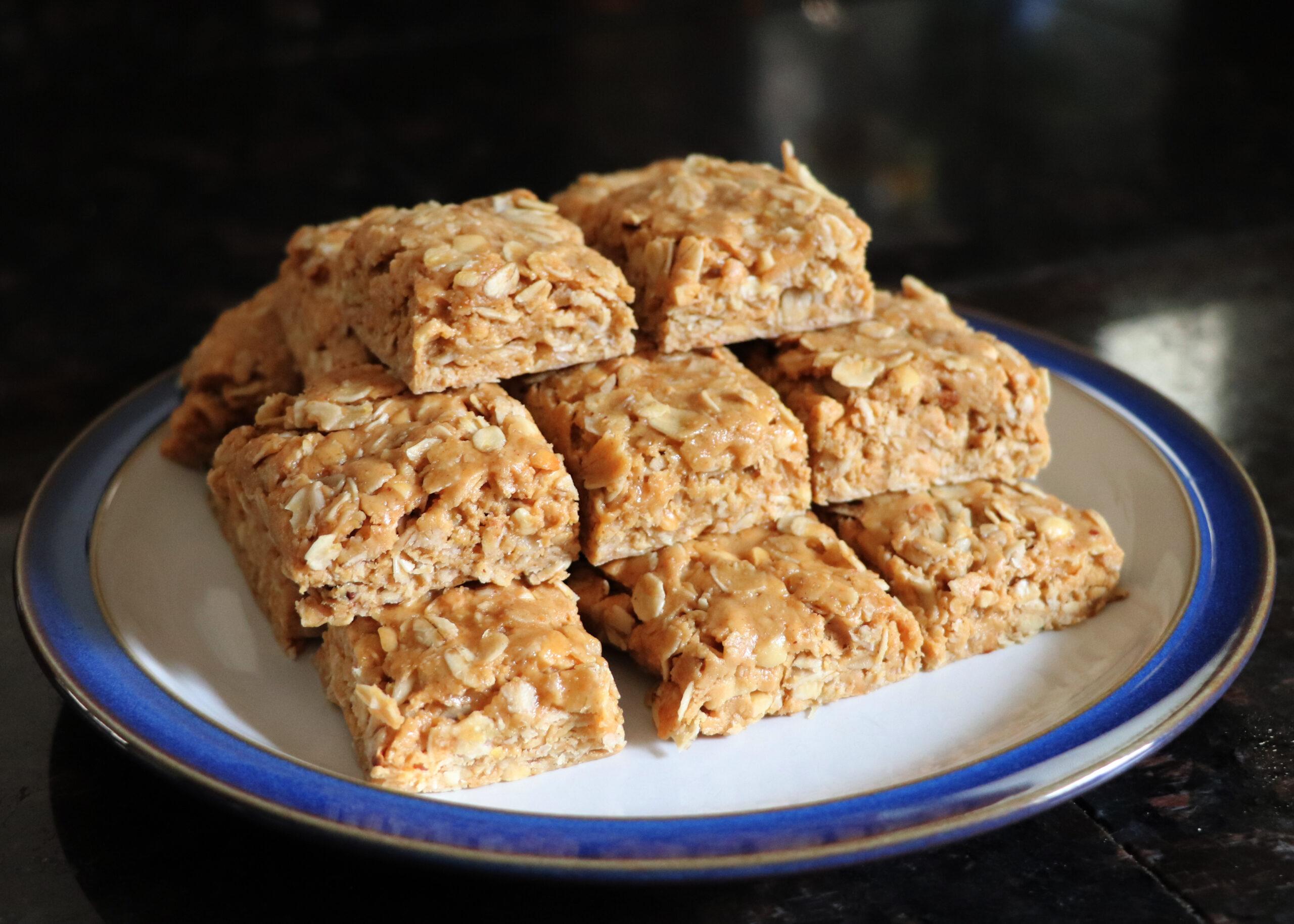 Yummy Gluten-Free Peanutbutter Breakfast Bars